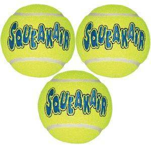 ΣΕΤ ΜΠΑΛΕΣ KONG AIR SQUEAKER TENNIS BALL (3ΤΜΧ) S