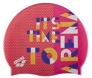 ΣΚΟΥΦΑΚΙ ARENA PRINT JR POOL CAP PINK DOTS