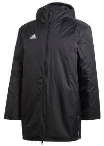 ΜΠΟΥΦΑΝ ADIDAS PERFORMANCE CORE18 STD JACKET ΜΑΥΡΟ