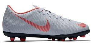 ΠΑΠΟΥΤΣΙ NIKE MERCURIAL VAPOR XII CLUB JUNIOR MG ΓΚΡΙ