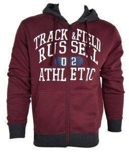 ΖΑΚΕΤΑ RUSSELL ATHLETIC ZIP THROUGH HOODY GRAPHIC ΒΥΣΣΙΝΙ