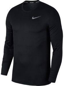 ΜΠΛΟΥΖΑ NIKE BREATHE RUN LONG SLEEVE TOP ΜΑΥΡΗ (XL)