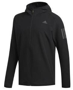 ΖΑΚΕΤΑ ADIDAS PERFORMANCE RESPONSE JACKET ΜΑΥΡΗ