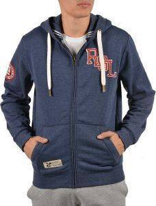 ΖΑΚΕΤΑ RUSSELL ATHLETIC RSL LOGO ZIP THROUGH HOODY ΜΠΛΕ ΡΑΦ (XXXL)