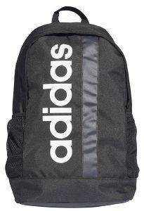 ΤΣΑΝΤΑ ADIDAS PERFORMANCE ESSENTIALS LINEAR CORE BACKPACK ΜΑΥΡΗ