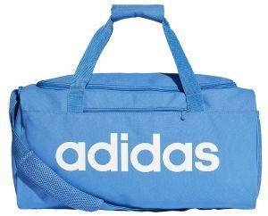 ΤΣΑΝΤΑ ADIDAS PERFORMANCE ESSENTIALS LINEAR CORE DUFFEL BAG SMALL ΜΠΛΕ