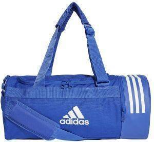 ΤΣΑΝΤΑ ADIDAS PERFORMANCE CONVERTIBLE 3-STRIPES DUFFEL BAG SMALL ΜΠΛΕ