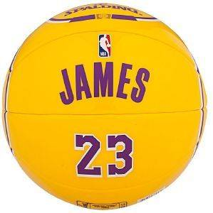 ΜΠΑΛΙΤΣΑ SPALDING NBA MINIATURE JERSEY BALL #23 LEBRON JAMES (SIZE 1.5)