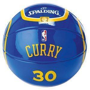 ΜΠΑΛΙΤΣΑ SPALDING NBA MINIATURE JERSEY BALL #30 STEPHEN CURRY (SIZE 1.5)