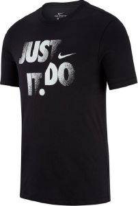ΜΠΛΟΥΖΑ NIKE DRI-FIT JUST DO IT TEE ΜΑΥΡΗ