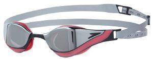 ΓΥΑΛΙΑ SPEEDO FASTSKIN PURE FOCUS MIRROR GOGGLE ΓΚΡΙ/ΡΟΖ
