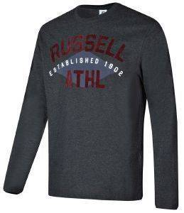 ΜΠΛΟΥΖΑ RUSSELL ATHLETIC L/S CREWNECK TEE ΑΝΘΡΑΚΙ