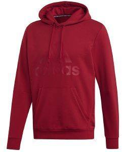 ΦΟΥΤΕΡ ADIDAS PERFORMANCE MUST HAVES BADGE OF SPORT HOODIE ΜΑΡΟΝ