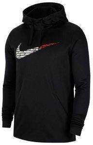 ΦΟΥΤΕΡ NIKE THERMA FLEECE PULLOVER HOODIE GRAFIX ΜΑΥΡΟ