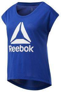 ΜΠΛΟΥΖΑ REEBOK SPORT WORKOUT READY SUPREMIUM 2.0 TEE ΜΠΛΕ (L)