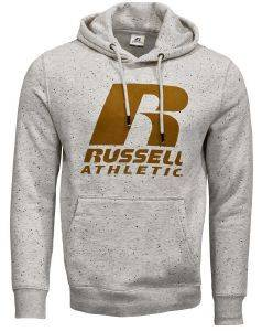 ΦΟΥΤΕΡ RUSSELL ATHLETIC PULL OVER HOODY ΕΚΡΟΥ