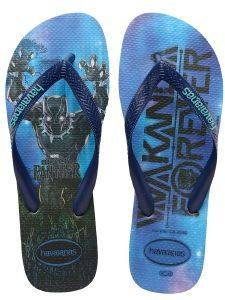 ΣΑΓΙΟΝΑΡΑ HAVAIANAS TOP MARVEL BLACK PANTHER ΜΠΛΕ