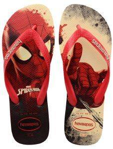ΣΑΓΙΟΝΑΡΑ HAVAIANAS TOP MARVEL SPIDERMAN RUBY RED