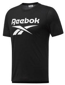 ΜΠΛΟΥΖΑ REEBOK SPORT WORKOUT READY SUPREMIUM GRAPHIC TEE ΜΑΥΡΗ (L)