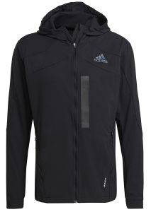 JACKET ADIDAS PERFORMANCE MARATHON TRANSLUCENT ΜΑΥΡΟ