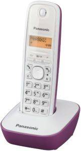 PANASONIC DECT KX-TG1611GR WHITE-PURPLE