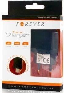 FOREVER TRAVEL CHARGER WITH MICRO USB 2A BOX
