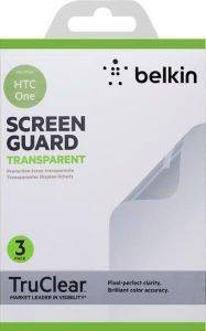 BELKIN F8M578VF3 SCREEN OVERLAY ΓΙΑ HTC ONE TRANSPARENT 3PCS
