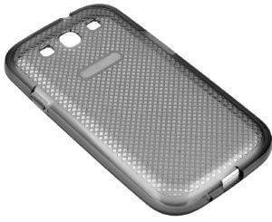 SAMSUNG PLASTIC COVER EF-AI930B FOR GALAXY S3 I9301 I9300 BLACK TRANSPARENT BULK