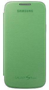 SAMSUNG PLASTIC FLIP COVER EF-FI919BG FOR GALAXY S4 MINI I9195 I9192 GREEN BULK