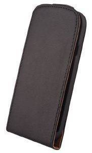 LEATHER CASE ELEGANCE FOR SAMSUNG S6310 YOUNG BLACK