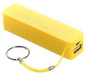 XLAYER POWERBANK COLOUR LINE YELLOW 2600MAH