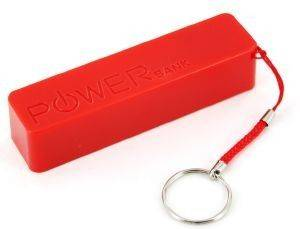 XLAYER POWERBANK COLOUR LINE RED 2600MAH