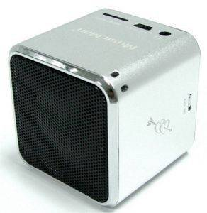 TECHNAXX MINI MUSICMAN SOUNDSTATION SILVER