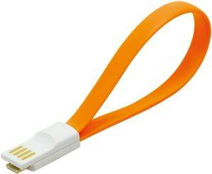LOGILINK CU0088 MAGNET USB 2.0 TO MICRO USB CABLE ORANGE