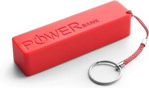 ESPERANZA XMP101R EXTREME POWER BANK QUARK 2000MAH RED