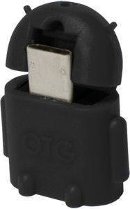 LOGILINK AA0062 MINI MICRO USB B/M TO USB A/F OTG ADAPTER BLACK