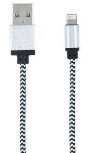 FOREVER BRAIDED LIGHTNING CABLE WHITE