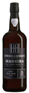 MADEIRA HENRIQUES AND HENRIQUES FINEST FULL RICH 5 YEARS OLD (ΓΛΥΚΟ) 750 ML
