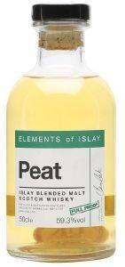 ΟΥΙΣΚΙ ELEMENTS OF ISLAY PEAT FULL PROOF 500 ML
