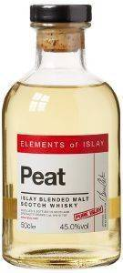 ΟΥΙΣΚΙ ELEMENTS OF ISLAY PEAT PURE ISLAY 500 ML