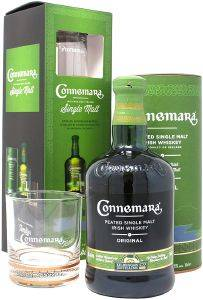 ΟΥΙΣΚΙ CONNEMARA PEATED SINGLE MALT EDITION 700 ML +  ΠΟΤΗΡΙ TUMBLER