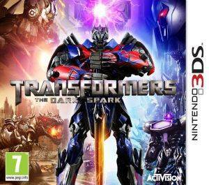 TRANSFORMERS RISE OF THE DARK SPARK - 3DS