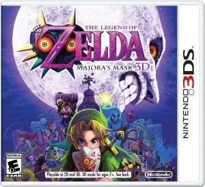 THE LEGEND OF ZELDA : MAJORAS MASK 3D - 3DS