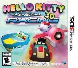 HELLO KITTY AND SANRIO FRIENDS 3D RACING - 3DS
