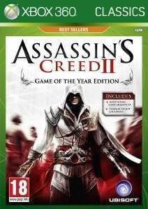 ASSASSIN`S CREED II: GAME OF THE YEAR EDITION -XBOX 360