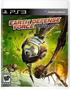 EARTH DEFENSE FORCE INSECT ARMAGEDDON - PS3