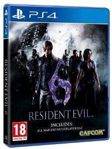 RESIDENT EVIL 6 (INCLUDES: ALL MAP AND MULTIPLAYER DLC)  - PS4