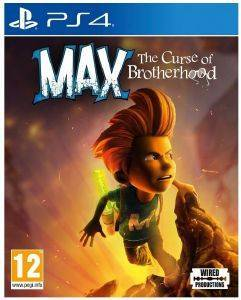 PS4 MAX: THE CURSE OF BROTHERHOOD
