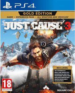 PS4 JUST CAUSE 3 - GOLD EDITION