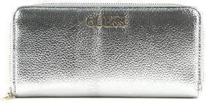 ΠΟΡΤΟΦΟΛΙ GUESS ALBY SLG LARGE ZIP AROUND SWMG7455460 ΑΣΗΜΙ